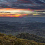 Shenandoah Sunset Poster by Pierre Leclerc Photography