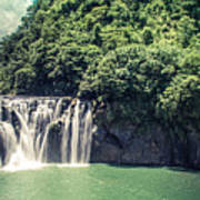 Shifen Waterfall Poster