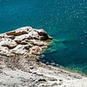 Shimmering Azure Water I Poster