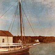 Ship At Dock Poster