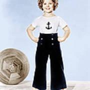 Shirley Temple, Studio Portrait, Ca Poster by Everett