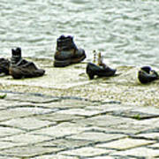 Shoes On The Danube Bank - Budapest Poster