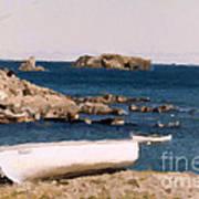 Shoreline Boat Poster