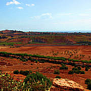Sicilian Landscape Poster