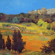 Sicily Landscape Poster