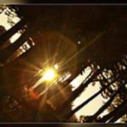 Sideways Sunset Poster