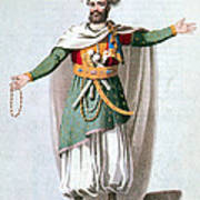 Sidy Hafsan, Bey Of Tripoli, 1816 Poster