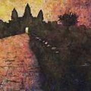Siem Reap Sunrise 3 Poster