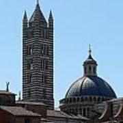 Sienna's Duomo Poster