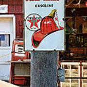 Sign - Fire Chief Gasoline Poster