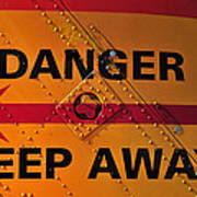 Signs Of Danger Poster