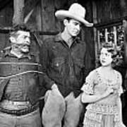 Silent Film: Cowboys Poster