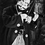 Silent Film Still: Clown Poster