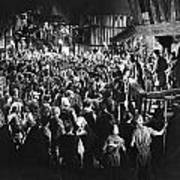 Silent Film Still: Crowds Poster