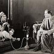 Silent Film Still: Smoking Poster