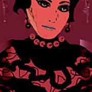 Silk Chiffon Poster by Natalie Holland