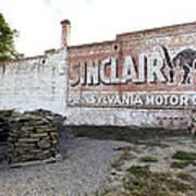 Sinclair Motor Oil Poster