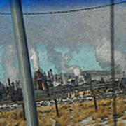 Sinclair Refinery Poster