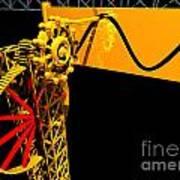 Sine Wave Machine Landscape 1 Poster