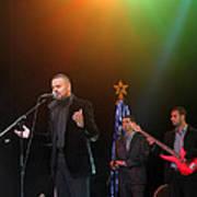 Singer Hasan Ammar In Bethlehem Poster