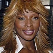 Singer Mary J. Blige Poster