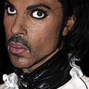 Singer Prince Cartoon Poster