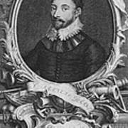Sir Francis Drake, English Explorer Poster by Photo Researchers, Inc.