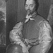 Sir Francis Drake, English Explorer Poster by Photo Researchers