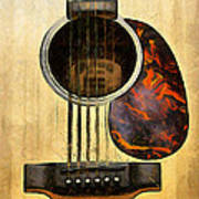 Six-string Acoustic Vi Poster