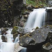 Skagway Waterfall 8619 Poster