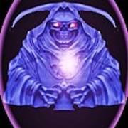 Skull Orb Poster