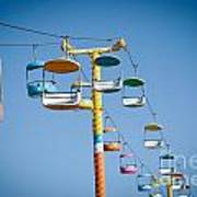 Sky Seats Poster by David Taylor