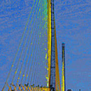Skyway Crossing Poster by David Lee Thompson