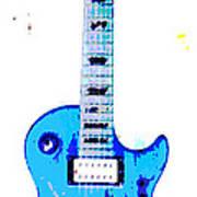 Slash's Guitar Poster by David Alvarez