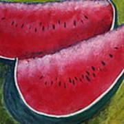 Slices Of Summer Poster by Gitta Brewster
