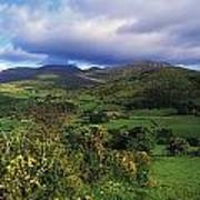 Slieve Bearnagh, Mourne Mountains, Co Poster