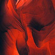 Slot Canyon Abstract Poster