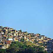 Slum At Santa Teresa Poster