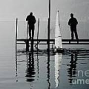 Small Sailing Boat Poster