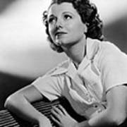 Small Town Girl, Janet Gaynor, 1936 Poster by Everett