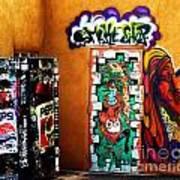 Smoke Shop Grafitti Art  Poster