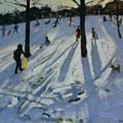 Snow Rykneld Park Derby Poster