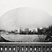 Snowy Cloud Gate Poster