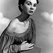 So Long At The Fair, Jean Simmons, 1950 Poster by Everett