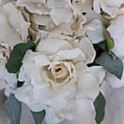 Soft Floral Poster