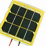 Solar Cell Poster by Friedrich Saurer