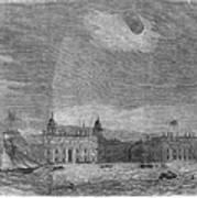 Solar Eclipse, 1858 Poster