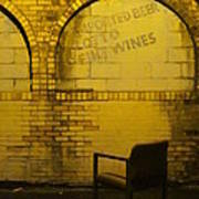 Someplace To Sit In The Alley Poster