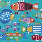 Something's Fishy Poster by Marilyn West