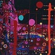 Sometimes I Even Dream In Neon Poster